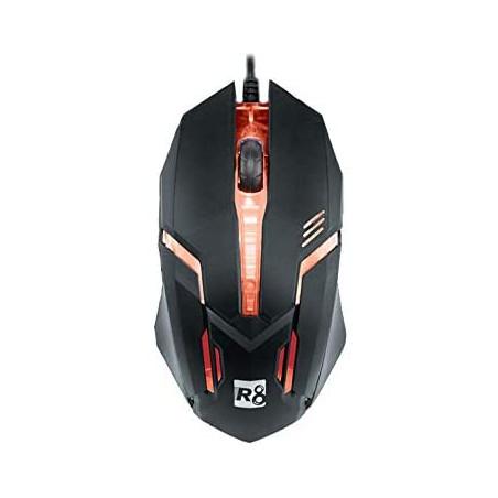 Souris Gamer  avec lumière LED R8-1602 - Couleur noire